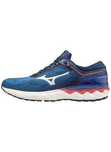 Mizuno Wave Skyrise Erkek Koşu Ayakkabısı Mavi Mavi